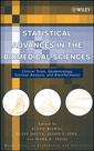 Couverture de l'ouvrage Statistical advances in the biomedical sciences: Clinical trials, epidemiology, survival analysis & bioinformatics