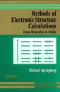 Couverture de l'ouvrage Methods of electronic-structure calculations : from molecules to solids