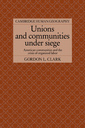 Couverture de l'ouvrage Unions and communities under siege: american communities and the crisis of organised labor