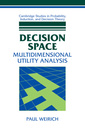 Couverture de l'ouvrage Decision space: multidimensional utility analysis