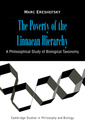 Couverture de l'ouvrage The poverty of the linnaean hierarchy a philosophical study of biological taxonomy