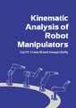 Couverture de l'ouvrage Kinematic analysis of robot manipulators