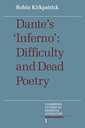 Couverture de l'ouvrage Dante's inferno: difficulty and dead poetry