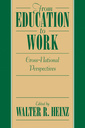 Couverture de l'ouvrage From education to work: cross national perspectives
