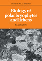 Couverture de l'ouvrage Biology of polar bryophytes and lichens (Studies in polar research)