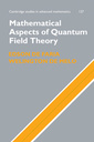 Couverture de l'ouvrage Mathematical aspects of quantum field theory