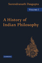 Couverture de l'ouvrage A history of indian philosophy, volume 1