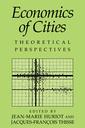 Couverture de l'ouvrage Economics of cities theoretical perspectives