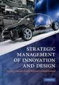 Couverture de l'ouvrage Strategic Management of Innovation and Design