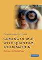 Couverture de l'ouvrage Coming of age with quantum information: notes on a paulian idea
