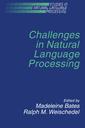 Couverture de l'ouvrage Challenges in natural language processing