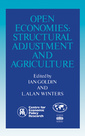 Couverture de l'ouvrage Open economies : structural adjustment and agriculture