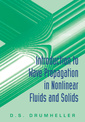 Couverture de l'ouvrage Introduction to wave propagation in nonlinear fluids and solids (paper)