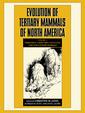 Couverture de l'ouvrage Evolution of tertiary mammals of north america, volume 1 terrestrial carnivores, ungulates, and ungulate like mammals