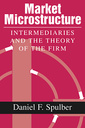 Couverture de l'ouvrage Market microstructure intermediaries and the theory of the firm