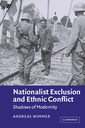 Couverture de l'ouvrage Nationalist Exclusion and Ethnic Conflict : Shadows of Modernity