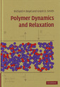 Couverture de l'ouvrage Polymer dynamics and relaxation