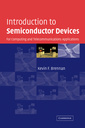 Couverture de l'ouvrage Introduction to semiconductor devices: for computing and telecommunications applications