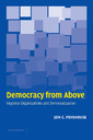 Couverture de l'ouvrage Democracy from above: regional organizations and democratization