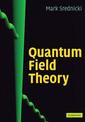 Couverture de l'ouvrage Quantum field theory