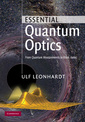 Couverture de l'ouvrage Essential quantum optics: from quantum measurements to black holes