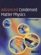Couverture de l'ouvrage Advanced condensed matter physics