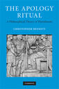Couverture de l'ouvrage The apology ritual: a philosophical theory of punishment