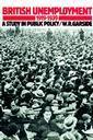 Couverture de l'ouvrage British unemployment 1919-1939 a study in public policy