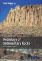 Couverture de l'ouvrage Petrology of sedimentary rocks