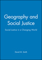 Couverture de l'ouvrage Geography and social justice (paper)