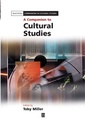 Couverture de l'ouvrage A companion to cultural studies (series: blackwell companions in cultural studies) (hardback)