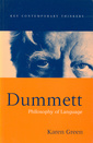 Couverture de l'ouvrage Dummett : philosophy of language