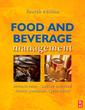 Couverture de l'ouvrage Food and beverage management