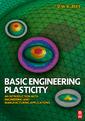 Couverture de l'ouvrage Basic Engineering Plasticity