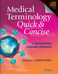 Couverture de l'ouvrage Medical Terminology Quick & Concise