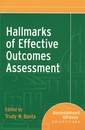 Couverture de l'ouvrage Hallmarks of effective outcomes assessesment : assessment update collections