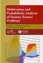 Couverture de l'ouvrage Multivariate & probabilistic analyses of sensory science problems