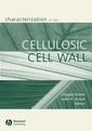 Couverture de l'ouvrage Characterization of the cellulosic cell wall