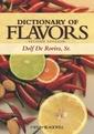 Couverture de l'ouvrage Dictionary of flavors