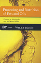 Couverture de l'ouvrage Processing & nutrition of fats & oils