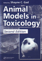 Couverture de l'ouvrage Animal models in toxicology