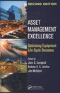 Couverture de l'ouvrage ASSET management excellence. Optimizing equipment life-cycle decisions