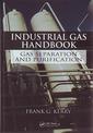 Couverture de l'ouvrage Industrial gas handbook : Gas separation & purification