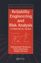 Couverture de l'ouvrage Reliability engineering & risk analysis, a practical guide