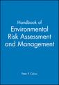 Couverture de l'ouvrage Handbook of environmental risk assessment and management