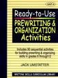 Couverture de l'ouvrage Writing skills curriculum library: ready to use prewriting & organization activities, unit 4