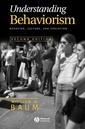Couverture de l'ouvrage Understanding behaviorism : behavior, culture & evolution,, (Paper)