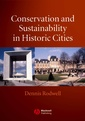 Couverture de l'ouvrage Conservation and sustainability in historic cities
