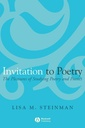 Couverture de l'ouvrage Invitation to poetry : the pleasures of studying poetry and poetics (paper)