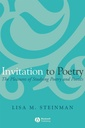Couverture de l'ouvrage Invitation to poetry : the pleasures of studying poetry and poetics
